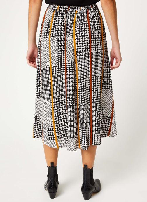 Vêtements Y.A.S Yaskesha Skirt Gris vue portées chaussures