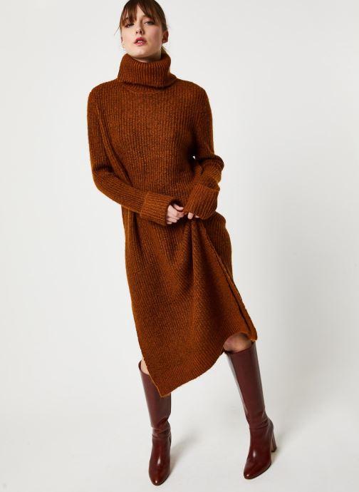 Vêtements Y.A.S Yastess Knit Marron vue bas / vue portée sac