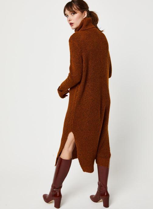 Vêtements Y.A.S Yastess Knit Marron vue portées chaussures