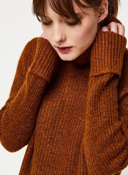 Vêtements Y.A.S Yastess Knit Marron vue face