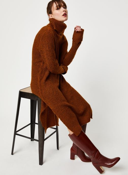 Vêtements Y.A.S Yastess Knit Marron vue détail/paire