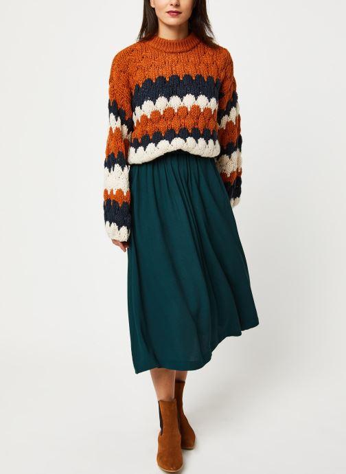 Vêtements Y.A.S Yastoni Knit Marron vue bas / vue portée sac