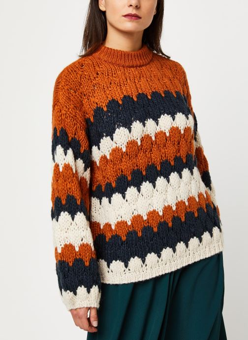 Vêtements Y.A.S Yastoni Knit Marron vue droite