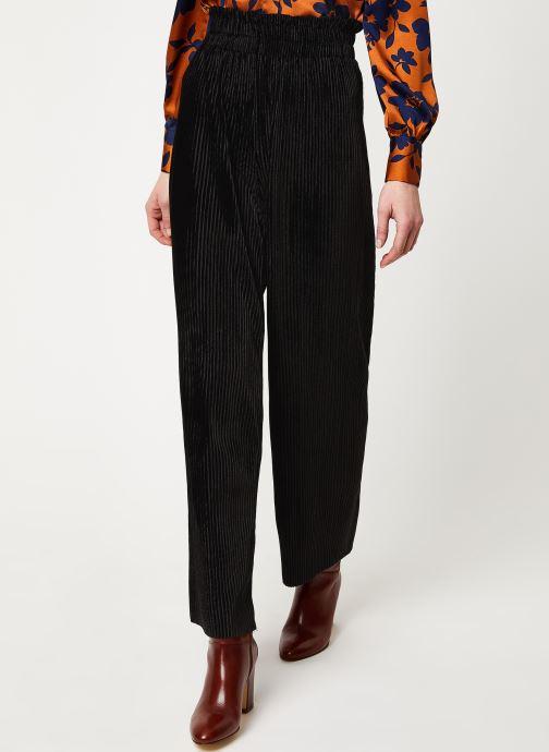 Vêtements Y.A.S Yasalissa Pant Noir vue détail/paire