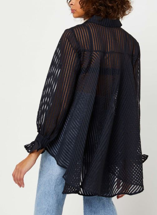 Vêtements Y.A.S Yasbillie Shirt Noir vue portées chaussures