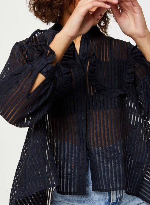 Vêtements Y.A.S Yasbillie Shirt Noir vue face