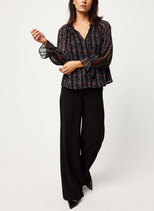 Vêtements Y.A.S Yasaretha Top Noir vue bas / vue portée sac