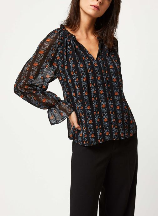 Vêtements Y.A.S Yasaretha Top Noir vue détail/paire