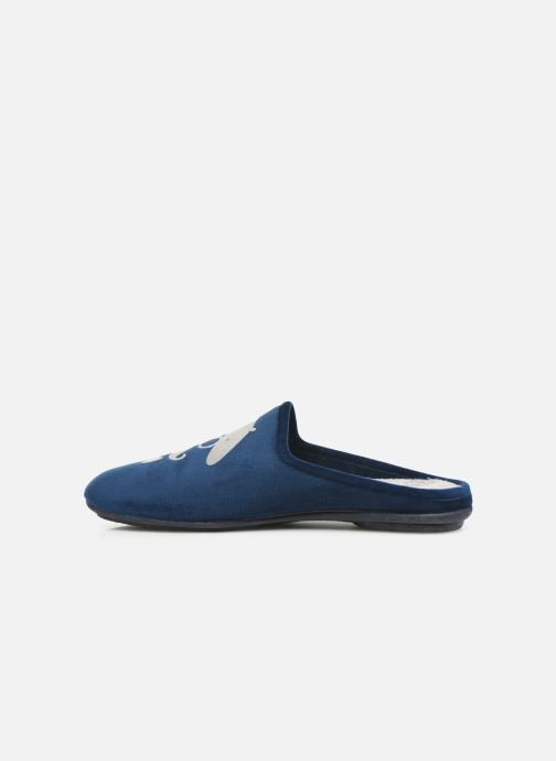 Slippers Rondinaud Parana Blue front view