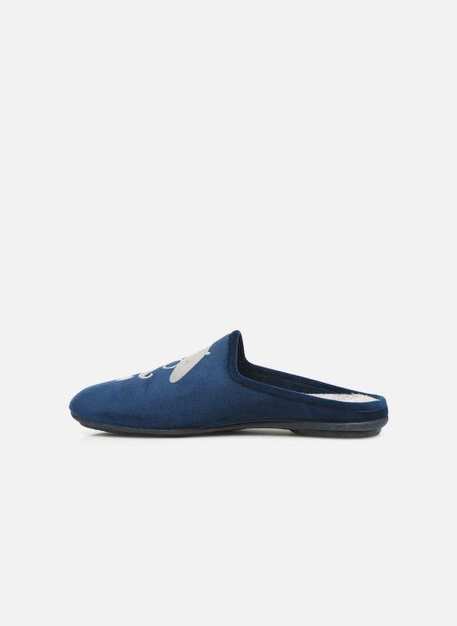 Pantofole Rondinaud Parana Azzurro immagine frontale