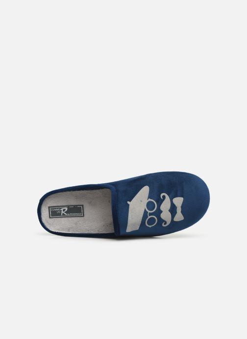 Pantofole Rondinaud Parana Azzurro immagine sinistra