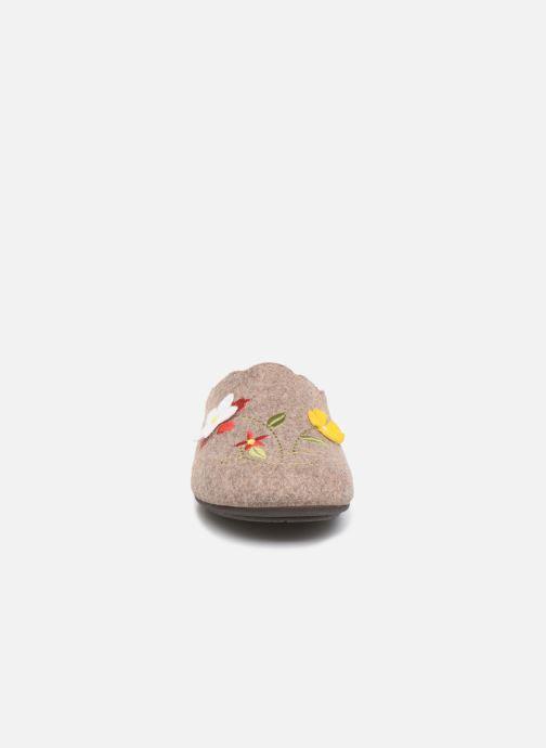 Pantoffels Rondinaud Cavalon Beige model