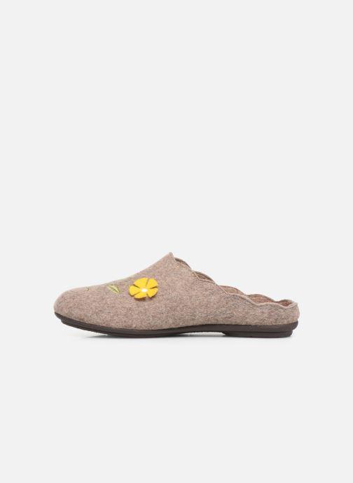 Pantoffels Rondinaud Cavalon Beige voorkant