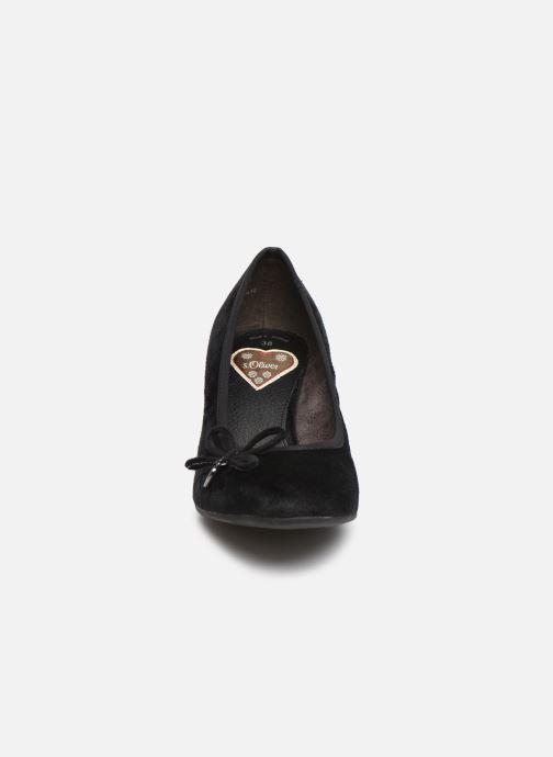 Escarpins S.Oliver Ariana Noir vue portées chaussures