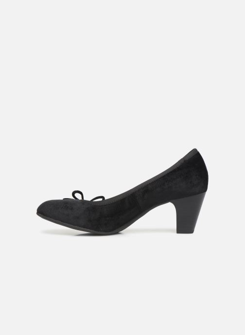 High heels S.Oliver Ariana Black front view