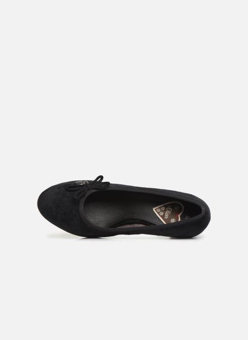 Zapatos de tacón S.Oliver Ariana Negro vista lateral izquierda