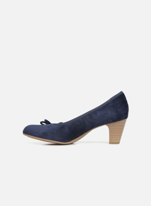 High heels S.Oliver Ariana Blue front view