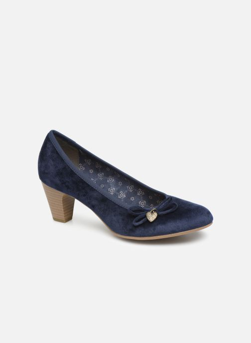 High heels S.Oliver Ariana Blue detailed view/ Pair view