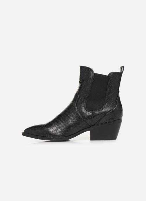 Bottines et boots S.Oliver Freia Noir vue face