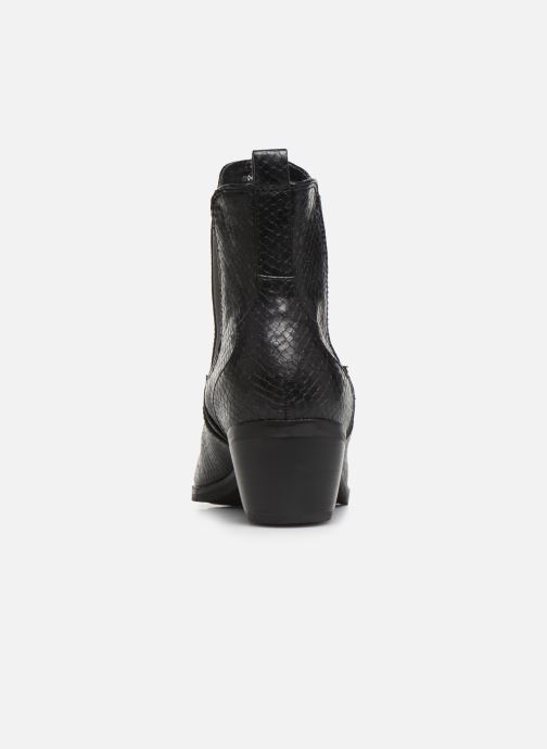 Ankle boots S.Oliver Freia Black view from the right