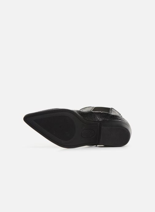 Bottines et boots S.Oliver Freia Noir vue haut