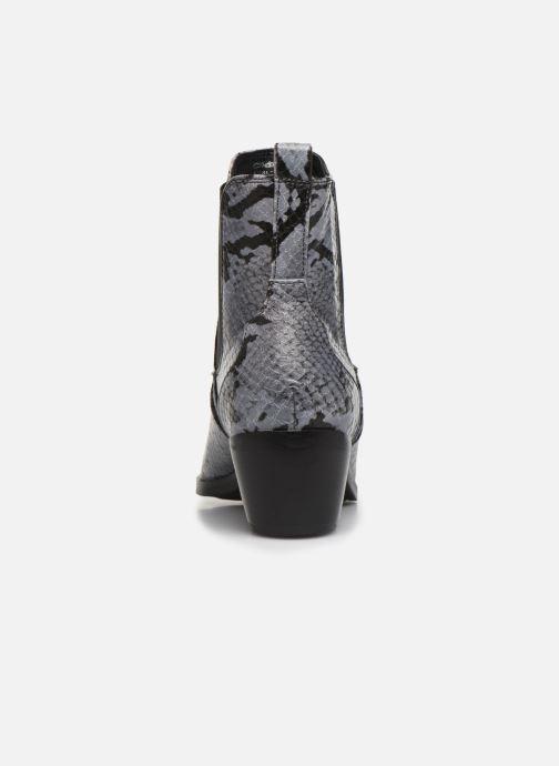 Bottines et boots S.Oliver Freia Gris vue droite
