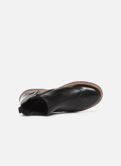 Bottines et boots S.Oliver Alexa Noir vue gauche