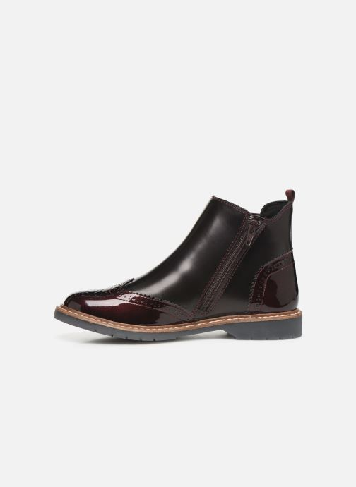 Ankle boots S.Oliver Alexa Burgundy front view