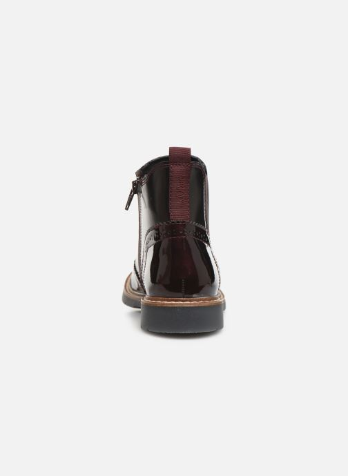 Ankle boots S.Oliver Alexa Burgundy view from the right