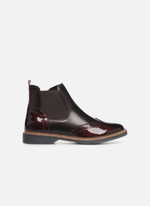Ankle boots S.Oliver Alexa Burgundy back view