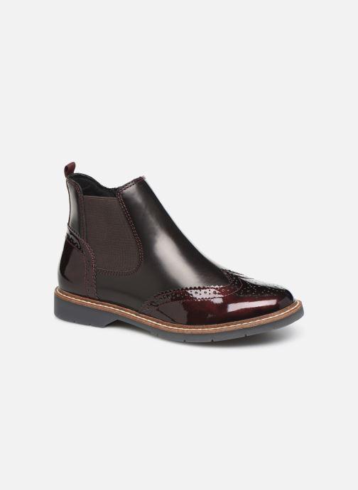 Bottines et boots S.Oliver Alexa Bordeaux vue détail/paire