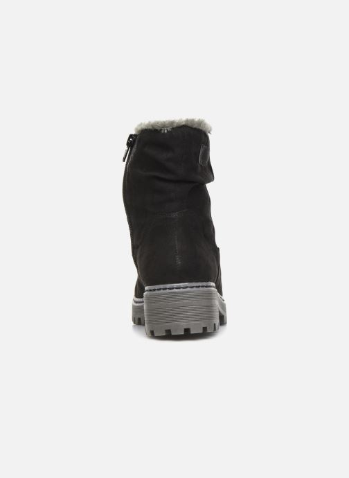 Ankle boots S.Oliver Mia Black view from the right