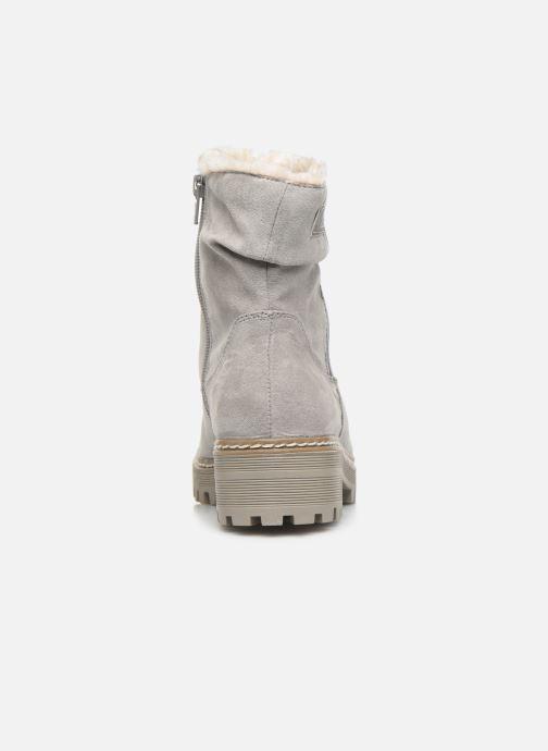 Bottines et boots S.Oliver Mia Gris vue droite