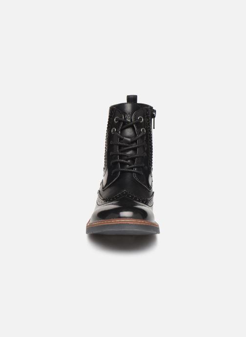Bottines et boots S.Oliver Oriana Noir vue portées chaussures