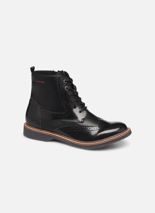 Boots en enkellaarsjes S.Oliver Oriana Zwart detail