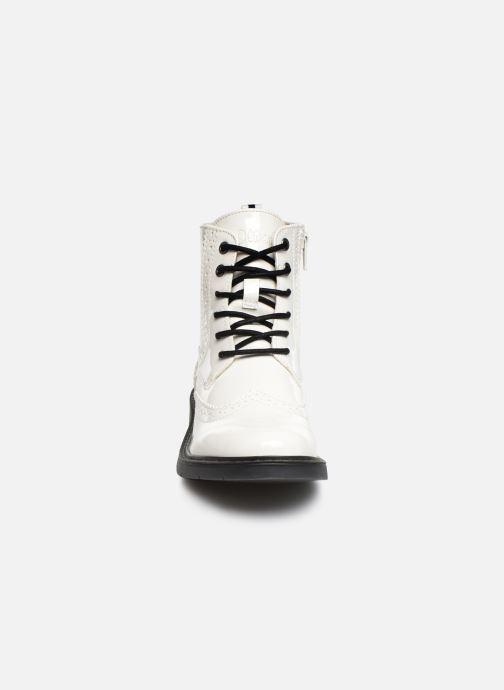 Bottines et boots S.Oliver Oriana Blanc vue portées chaussures