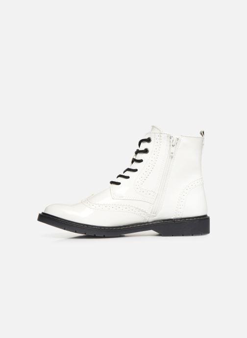 Stiefeletten & Boots S.Oliver Oriana weiß ansicht von vorne