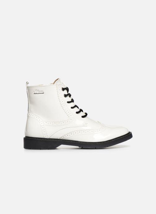 Bottines et boots S.Oliver Oriana Blanc vue derrière