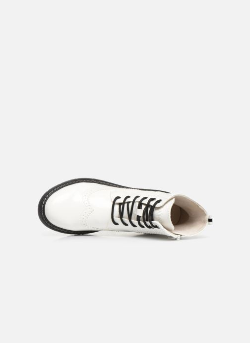 Stiefeletten & Boots S.Oliver Oriana weiß ansicht von links