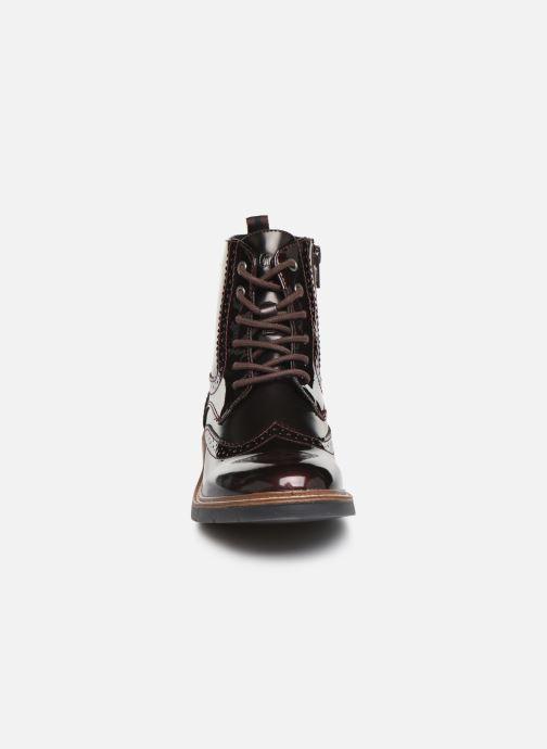 Bottines et boots S.Oliver Sara Bordeaux vue portées chaussures