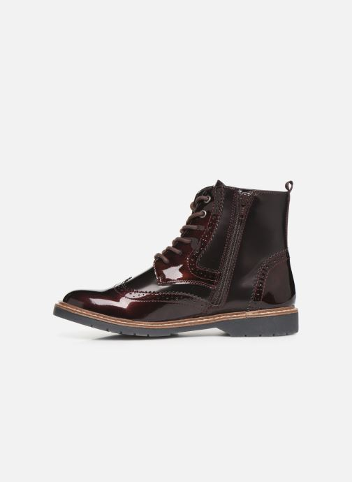 Ankle boots S.Oliver Sara Burgundy front view