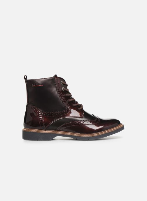 Ankle boots S.Oliver Sara Burgundy back view