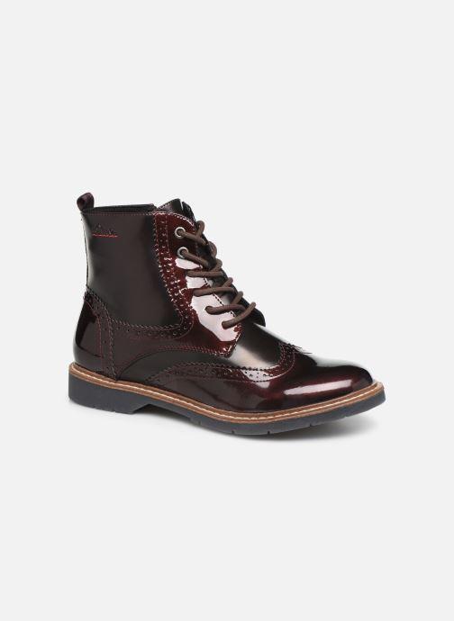 Bottines et boots S.Oliver Sara Bordeaux vue détail/paire