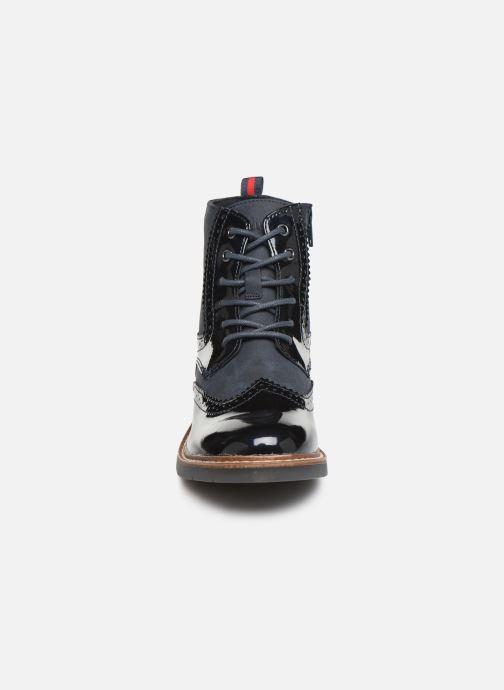 Bottines et boots S.Oliver Sara Bleu vue portées chaussures