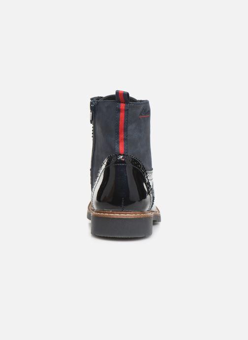 Bottines et boots S.Oliver Sara Bleu vue droite