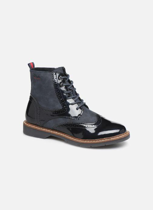 Boots en enkellaarsjes S.Oliver Sara Blauw detail