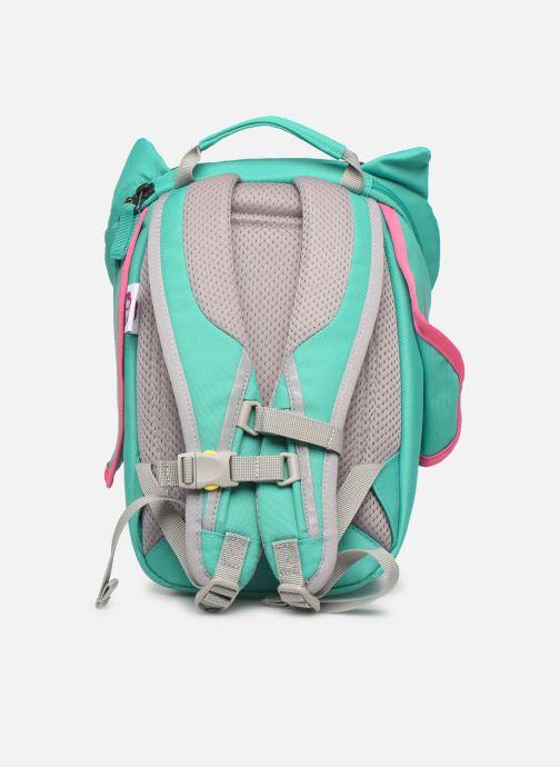 Sacs à dos Affenzahn Olivia Owl Small Backpack 17*11*25 cm Bleu vue face