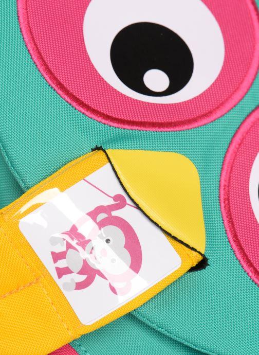 Sacs à dos Affenzahn Olivia Owl Small Backpack 17*11*25 cm Bleu vue gauche