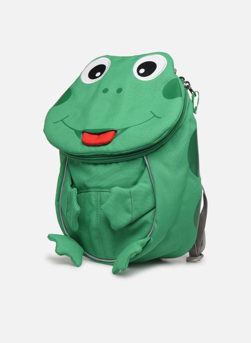 Sacs à dos Affenzahn Finn Frog Small Backpack 17*11*25 cm Vert vue portées chaussures