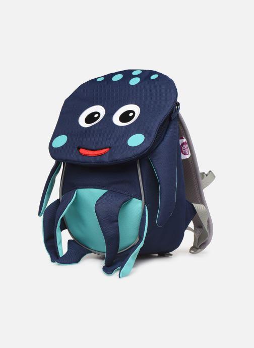 Sacs à dos Affenzahn Oliver Octopus Small Backpack 17*11*25 cm Bleu vue portées chaussures